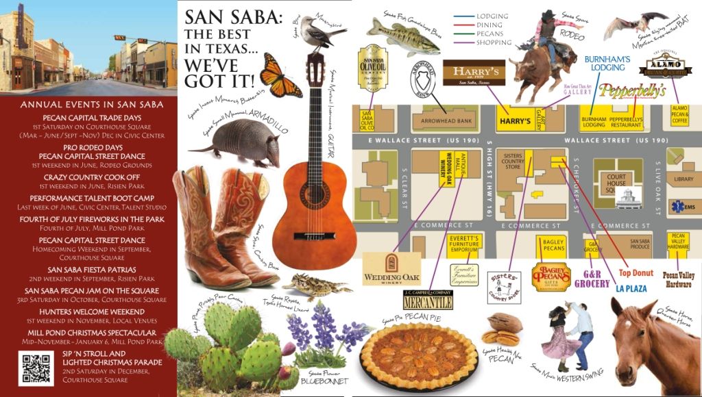 San Saba Events and Venues Card Outside