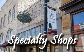 specialty shops