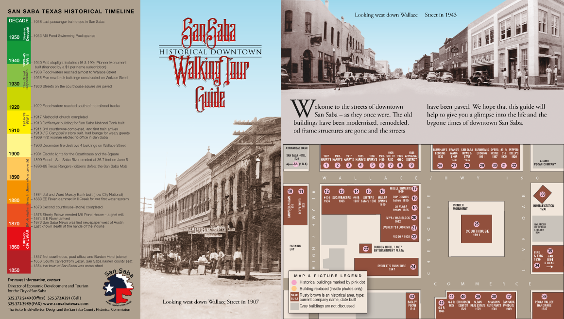 Historic Walking Tour Card Outside