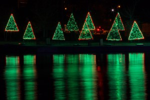 Mill Pond Lighted Holiday Park @ Mill Pond Park | San Saba | Texas | United States