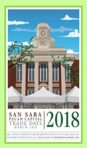 Pecan Capital Trade Day @ San Saba County Courthouse Square | San Saba | Texas | United States