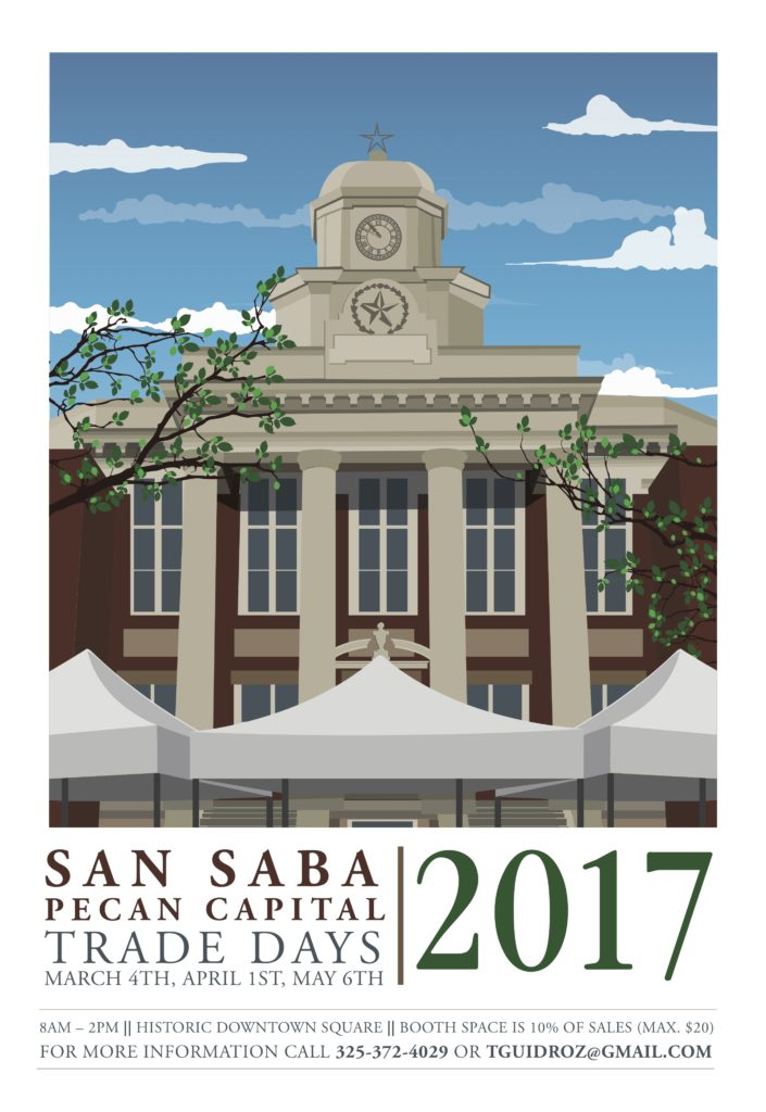 Pecan Capital Trade Day @ San Saba County Courthouse Square | San Saba | Texas | United States
