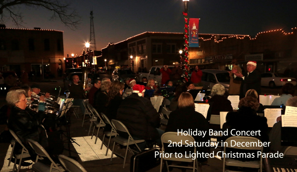 River City Holiday Band Concert @ San Saba County Courthouse Square | San Saba | Texas | United States