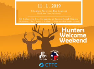 Annual Opening Hunters Welcome Weekend @ G and R Grocers, Lowe's Market | San Saba | Texas | United States