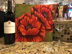 Art Class and Wine Glass @ Wedding Oak Winery | San Saba | Texas | United States