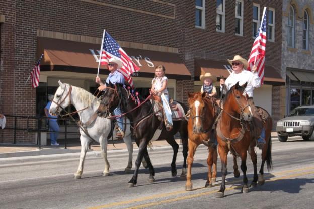 San Saba Annual Rodeo Parade San Saba Texas