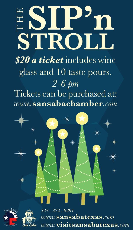 Sip N Stroll Wine Tasting Event @ Everett's Furniture & Emporium | San Saba | Texas | United States