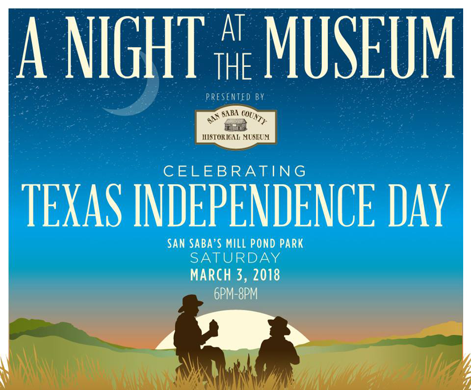 A NIGHT AT THE MUSEUM @ San Saba County Museum | San Saba | Texas | United States