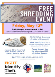 KSSB Free Shredding Event @ SSISD Administration Parking Lot | San Saba | Texas | United States