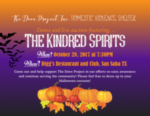 DOVE PROJECT DANCE & LIVE AUCTION @ Diggs Restaurant & Club | San Saba | Texas | United States