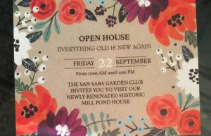 GARDEN CLUB OPEN HOUSE @ San Saba Garden Club House | San Saba | Texas | United States
