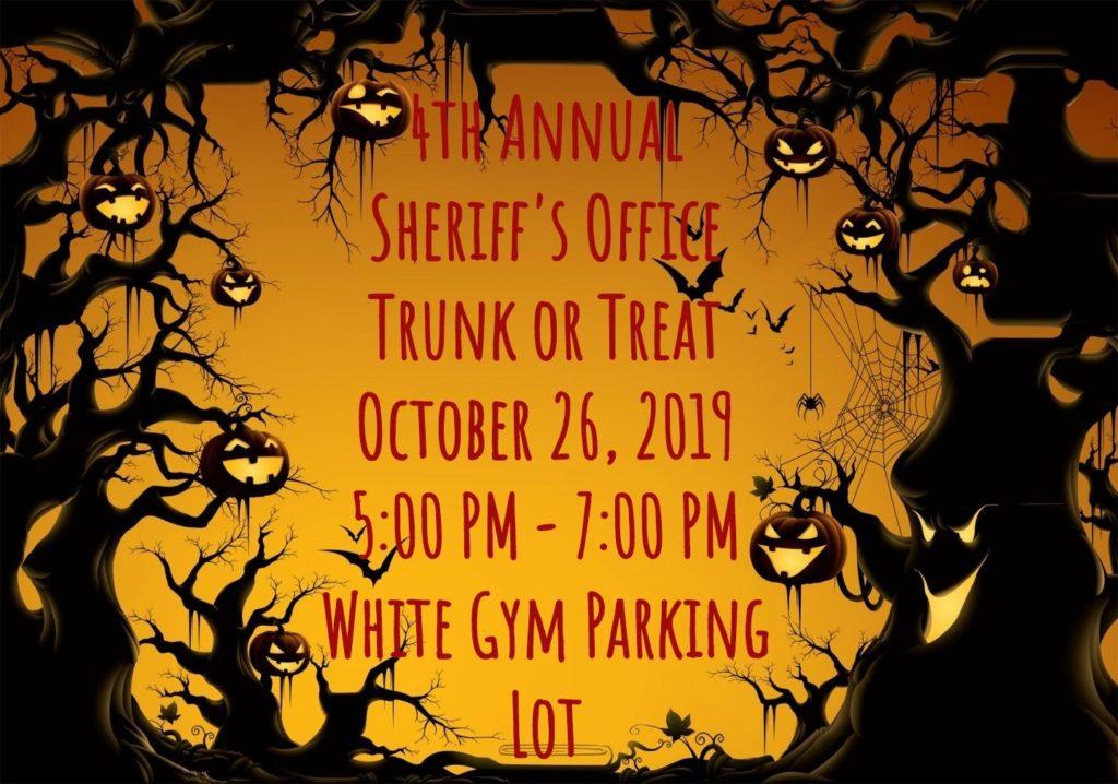 Trunk or Treat Sponsored by the San Saba Sheriff's Department @ San Saba ISD White Gym | San Saba | Texas | United States